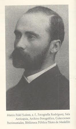 Marco Fidel Suárez joven