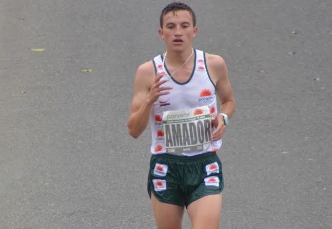 Miguel Amador ganó prueba de 10.000 metro