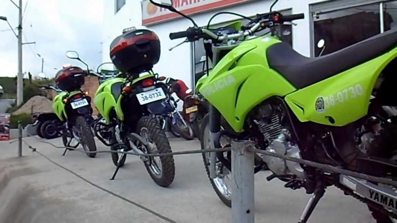 motos de la policia