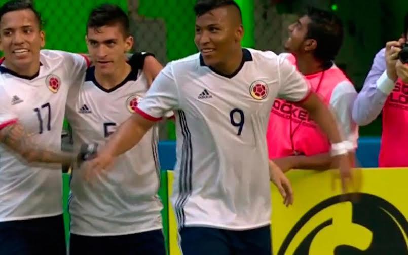 Selección colombia venció 3-1 a Haití