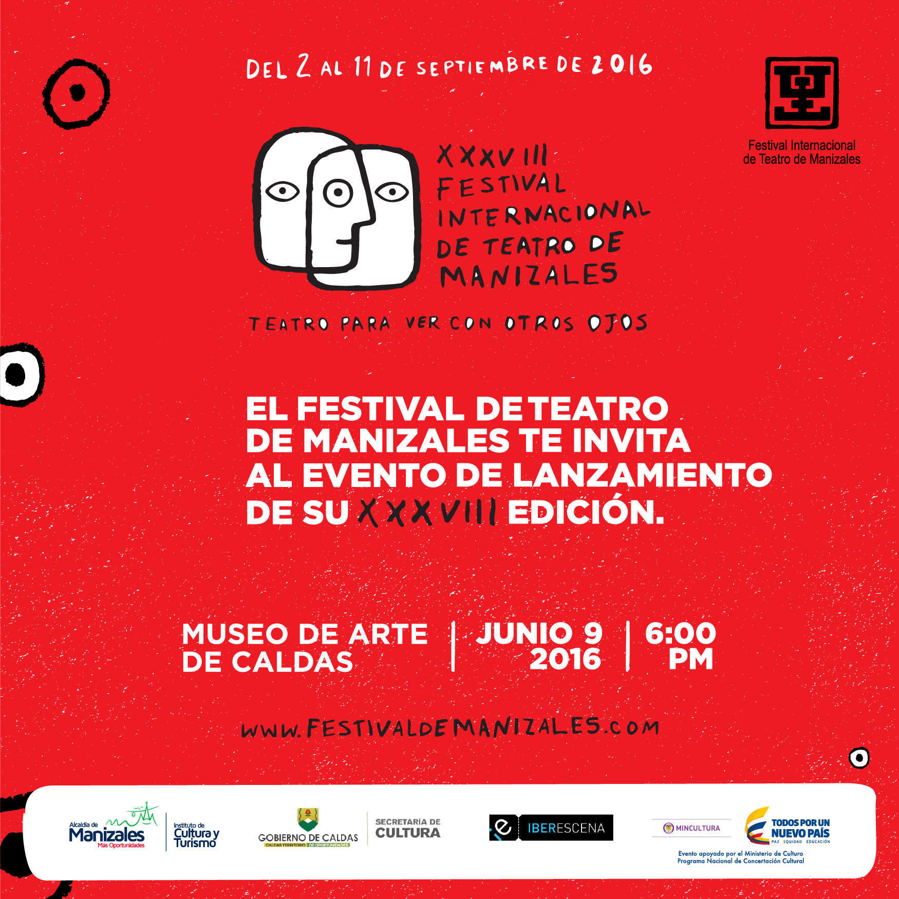 Festival de Teatro de Manizales XXXVIII
