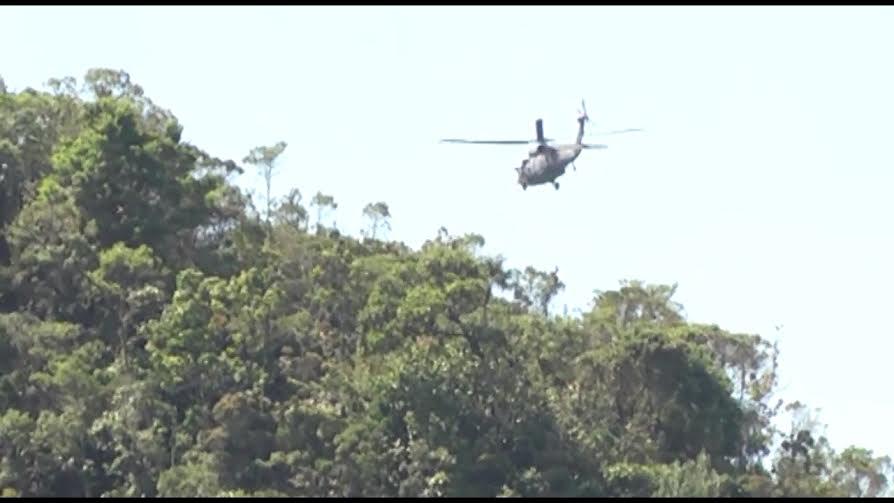 Helicoptero accidentado en pensilvania