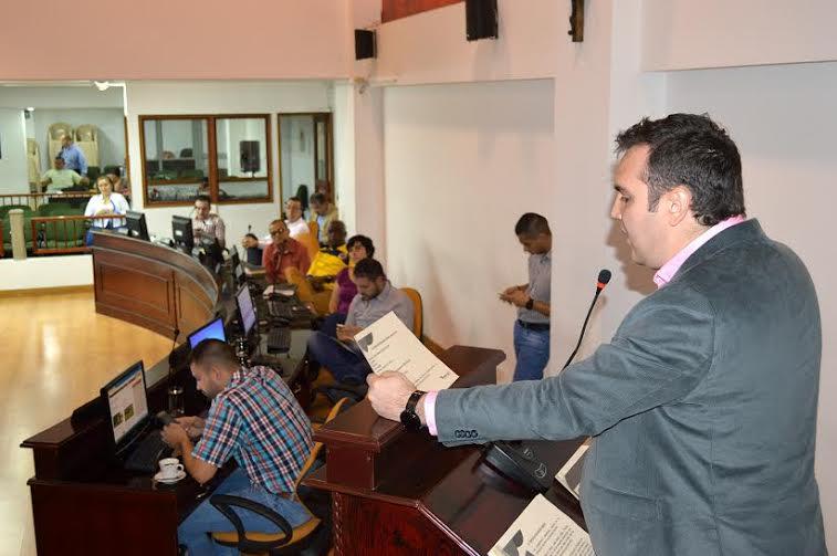 José Fernando Robledo secretario de gobierno en el concejo