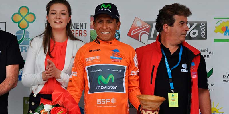 Nairo Quintana campeon de la ruta del sur