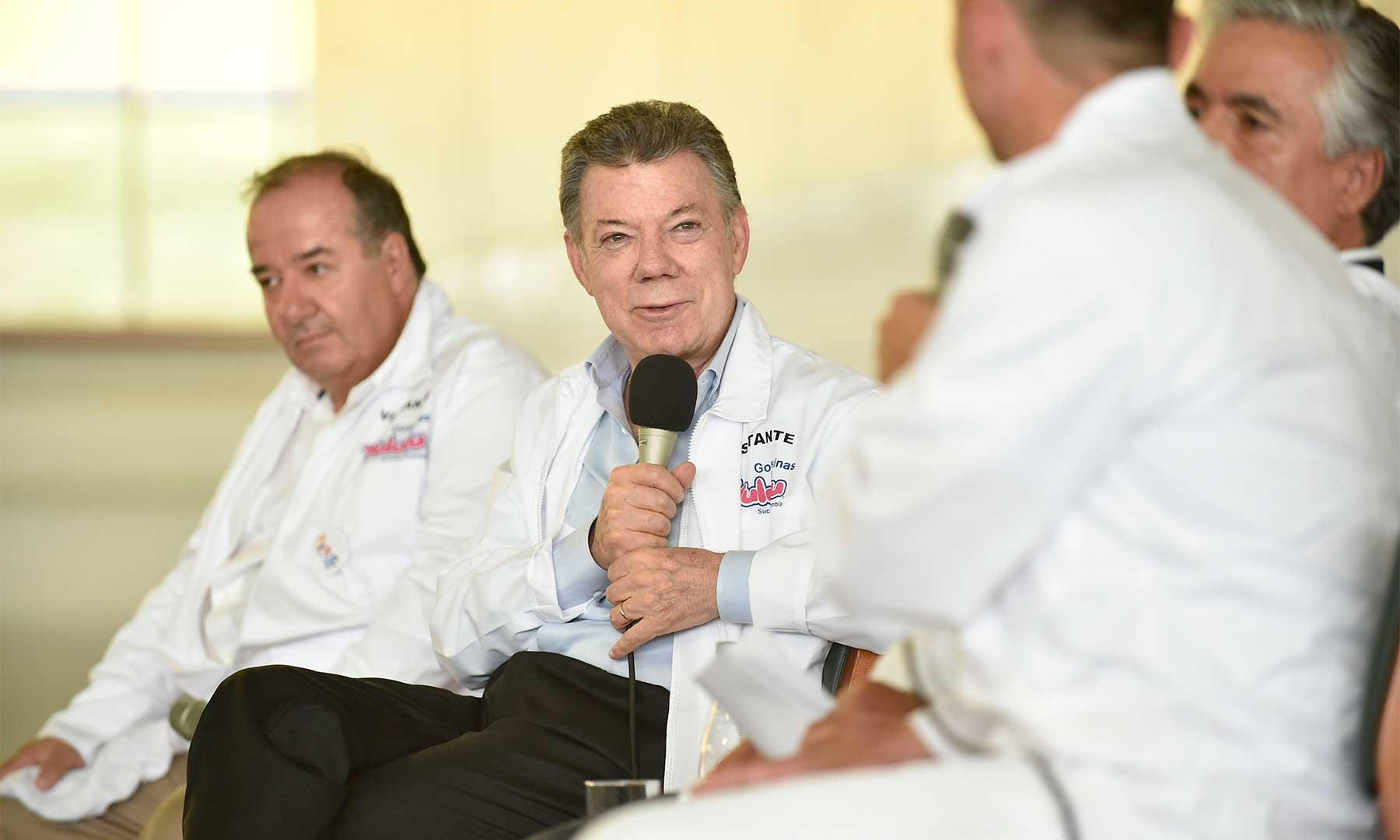 En la inauguración de la planta de Súper de Alimentos en Manizales, el Presidente Juan Manuel Santos subrayó la importancia que tendrá la paz para la industria nacional que vislumbrará múltiples oportunidades.