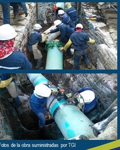 gasoducto mantenimiento