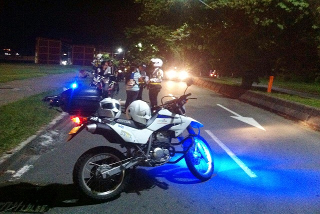 Armenia controles de motos