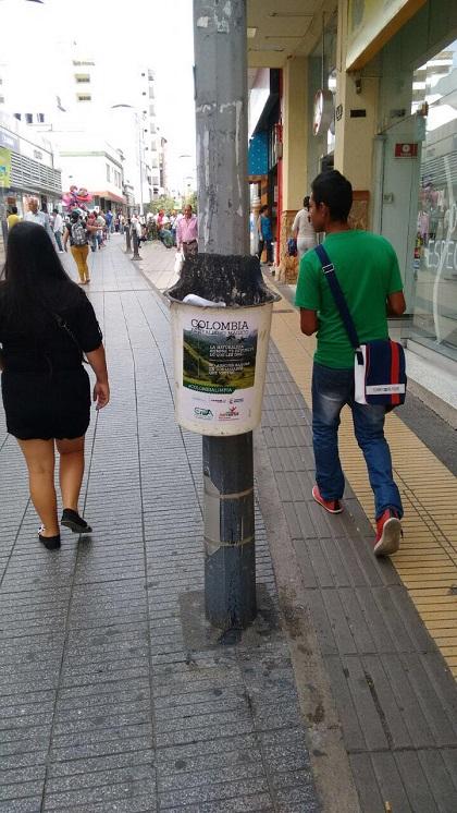 Campaña de aseo colombia limpia