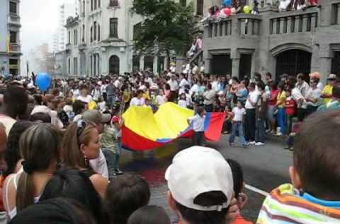 Desfile del 20 de julio manizales