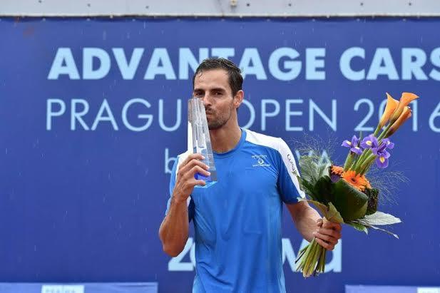 Santiago Giraldo se coronó campeón de Challenger de Praga