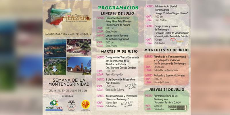 Semana de la Montenegrinidad