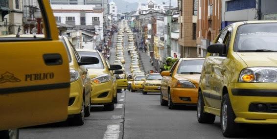 Taxistas de manizales