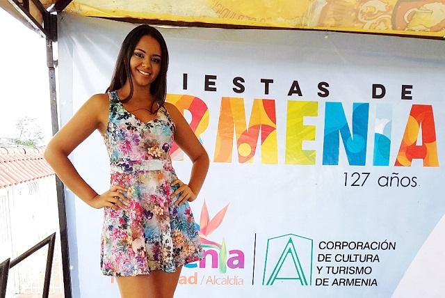 Daniela López Álvarez como candidata de la comuna 3