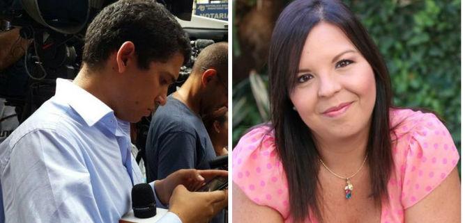 Jorge Pérez Valery y Andreína Flores
