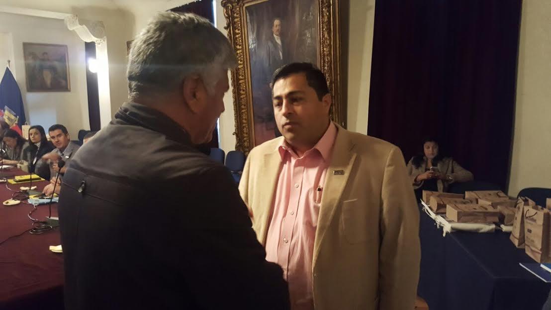 Octavio Cardona en Chile