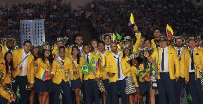 delegacion colombiana