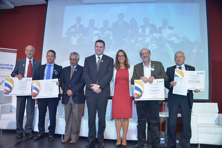 universidades con acreditación de alta calidad en Colombia