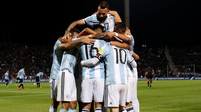 Argentina Celebra Triunfo ante Uruguay