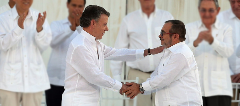 Firma Acuerdo de Paz