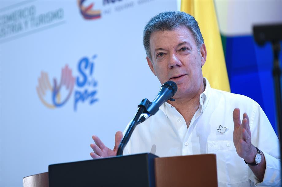 Santos anuncia firma de la paz