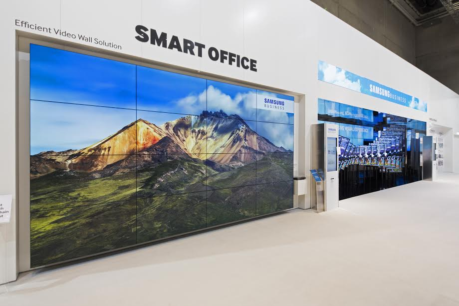 SAMSUNG Business Solutions at IFA in Berlin, Germany, Saturday, Sept. 5, 2015. (Photo: Gero Breloer for Samsung Business)