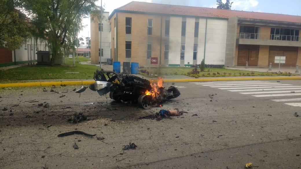Terrorismo vuelve a sacudir a Bogotá con sangriento ataque a escuela  policial - Eje21