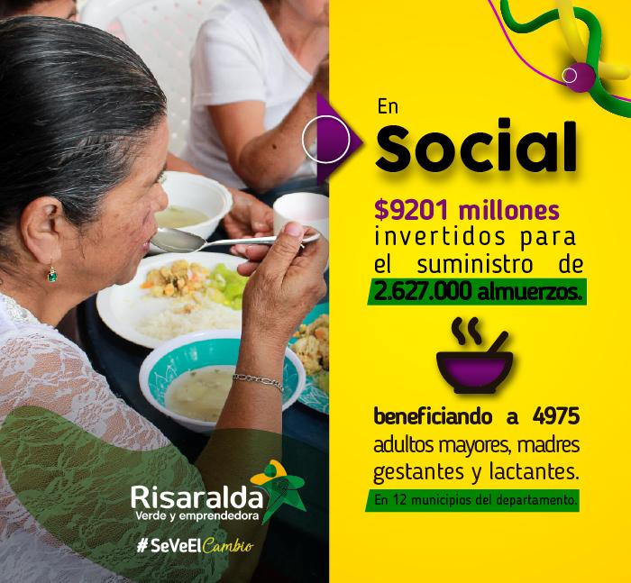 Gobernación de Risaralda. Banner en Social