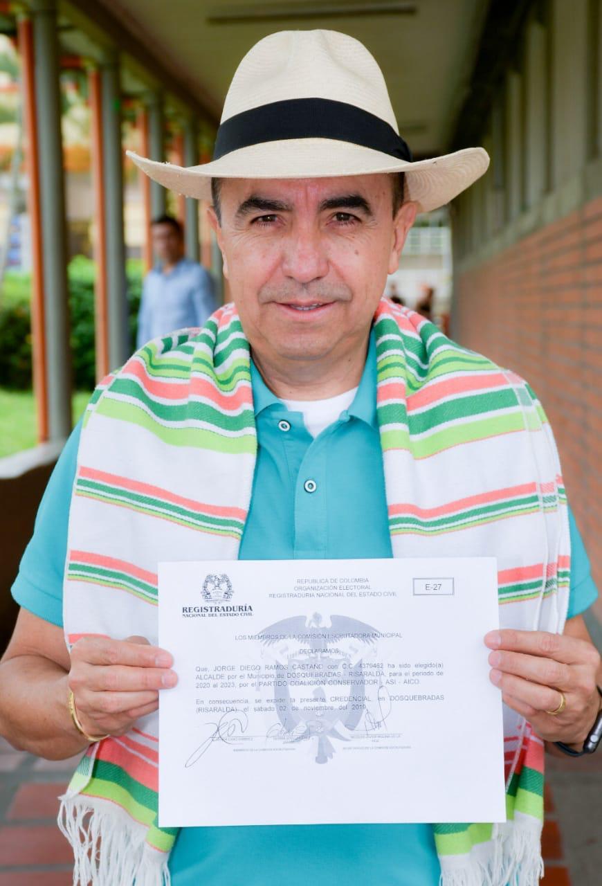 Resultado de imagen para Alcalde Electo para Dosquebradas