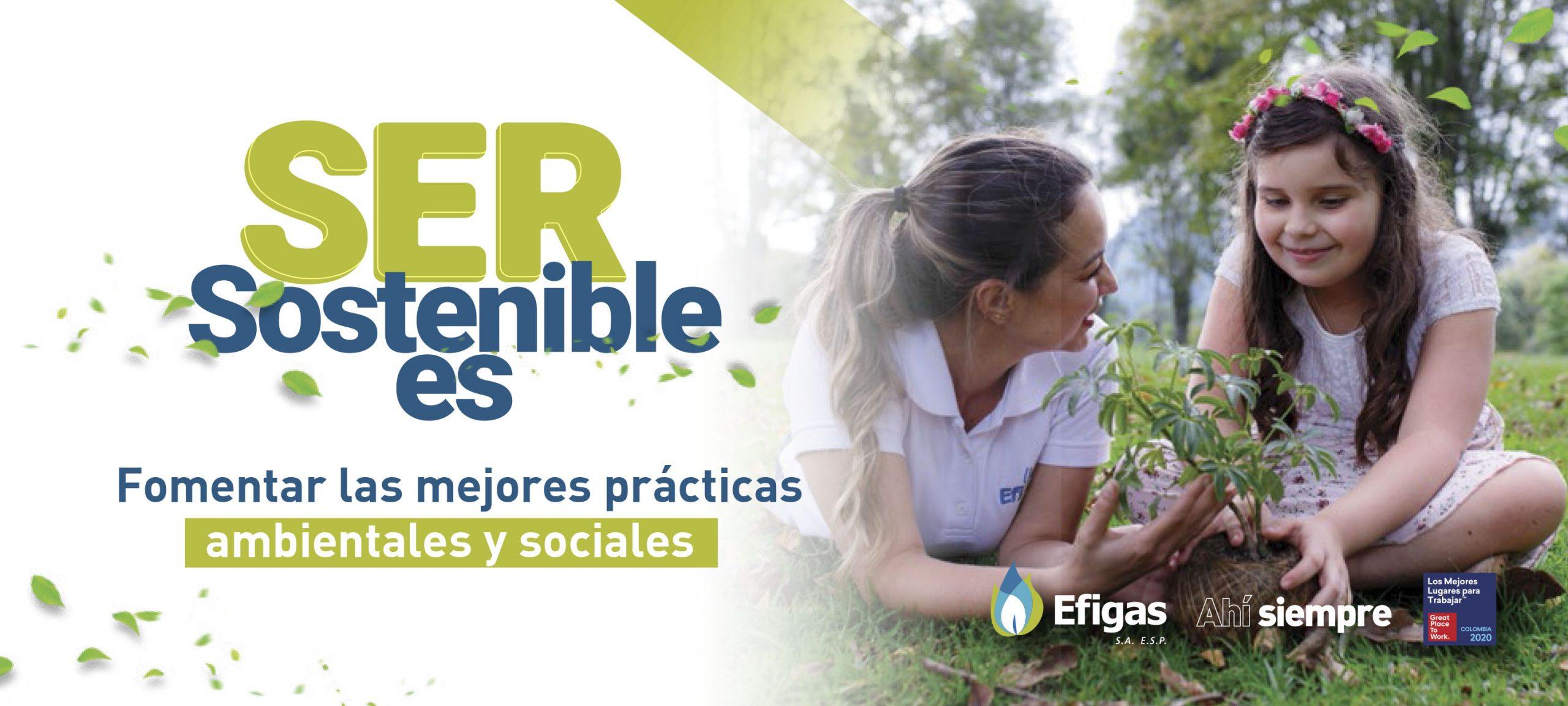 Ser sostenible. Banner def.