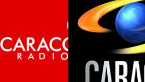 Logo caracol radio y caracol tv